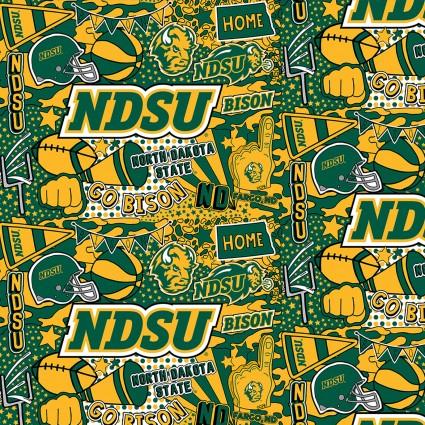 NDSU Pop Art Cotton NDS1165