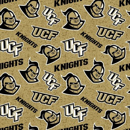 University of Central Florida Knights Tone on Tone Cotton UCF-1178