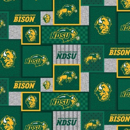 North Dakota State Fleece 60inch