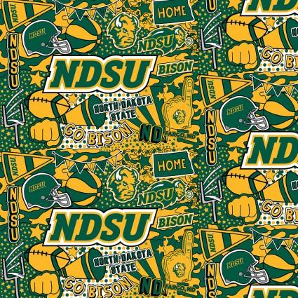North Dakota State University Minky 60 inch