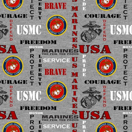 US Marine Corps Fabric