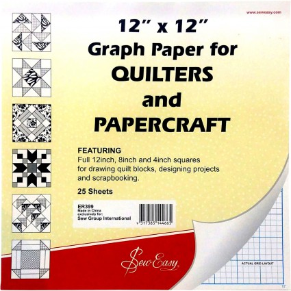 Graph Paper for Quilters & Papercraft