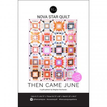 Nova Star paper pattern designed by Then Came June