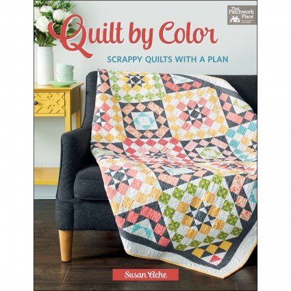 Quilt by Color-Scrappy Quilts with a plan