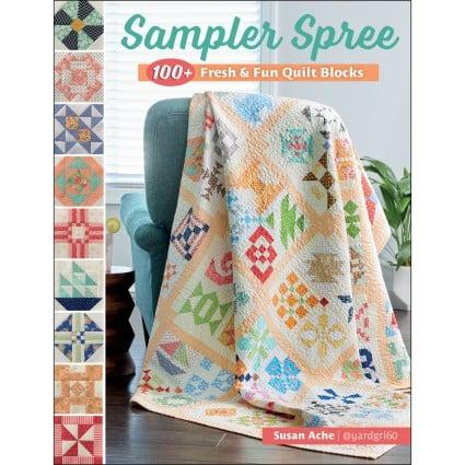 Sampler Spree Quilt Book by Susan Ache