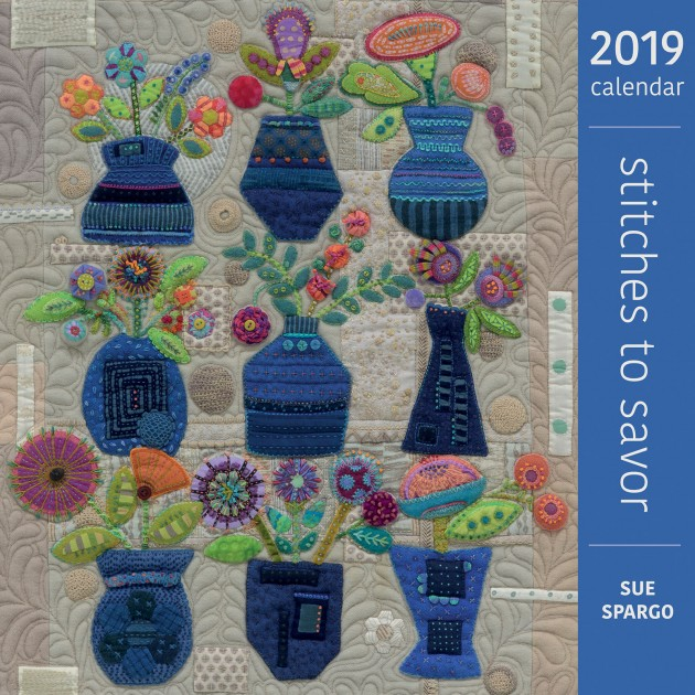 Stitches to Savor 2019 Calendar