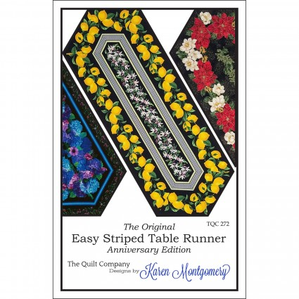 Easy Striped Table Runner
