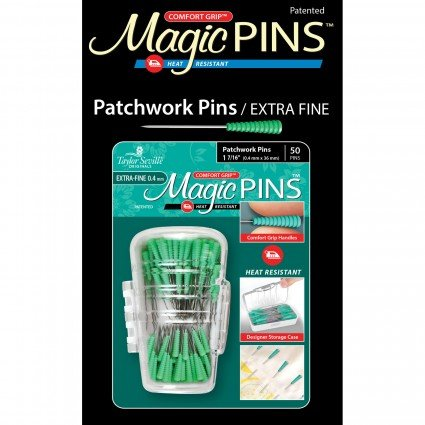 Magic PINS Patchwork Pins / Extra Fine 50ct.
