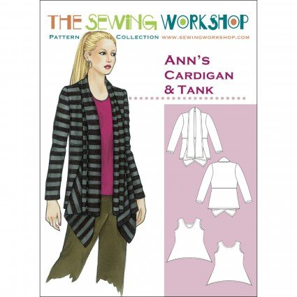 The Sewing Workshop Ann's Cardigan
