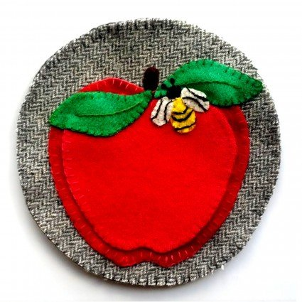 Apple Cider Sangria Coaster