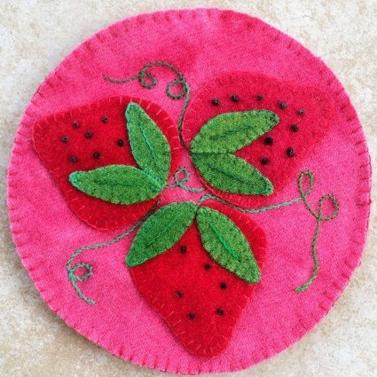 Strawberry Daiquiri Coaster