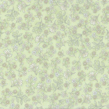Fabric Melba Metallic Green