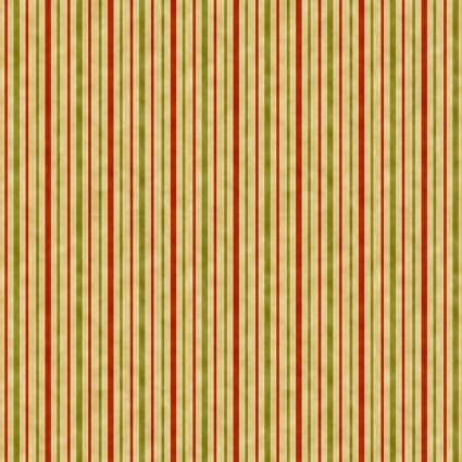 Melba Orange/red & green Stripe Gold metallic