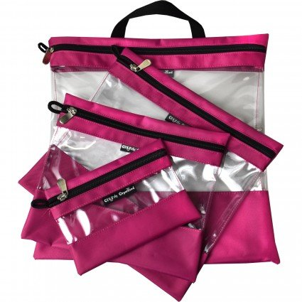 Clearly Organized Bag Pink