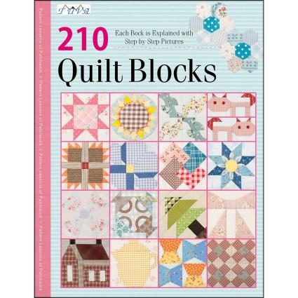 210 Quilt Blocks Sampler Book