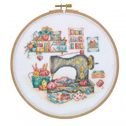 Cross Stitch Kit - Sewing Room