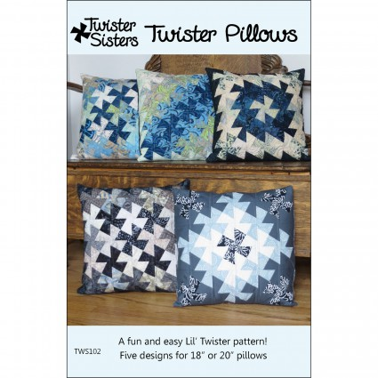 Twister Pillows Pattern