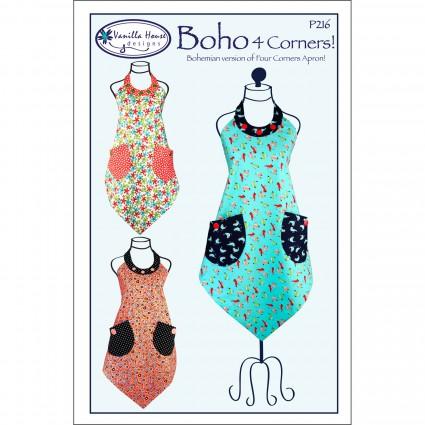 BoHo 4 Corners Apron By Vanila House Designs