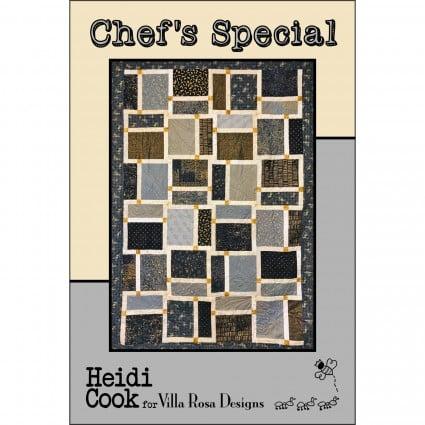 Chef's Special - Villa Rosa. 48x66. - 10 Squares