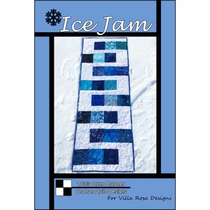 Ice Jam Table Runner Pattern