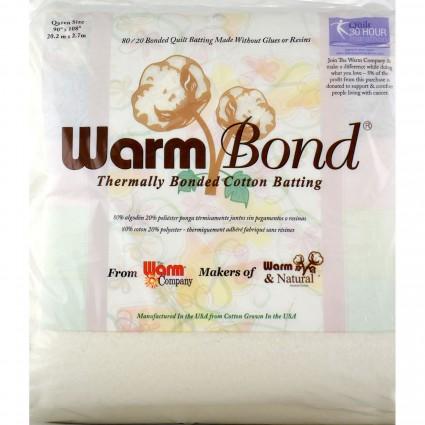 Warm Bond 80% Cotton/20% Polyester 90 x 108