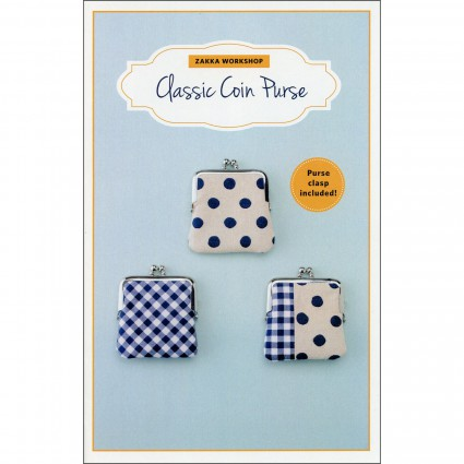 Classic coin purse - pattern and clasp