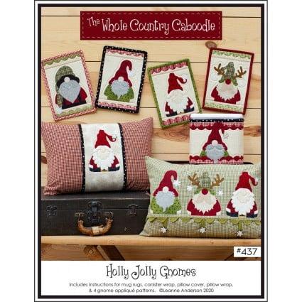 Holly Jolly Gnomes Pattern 437