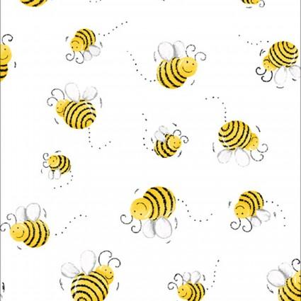 Barnyard Buddies -- 20197-100  Basic Prints Susy's Bees