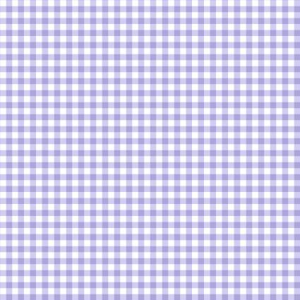 Lilac Mini Gingham
