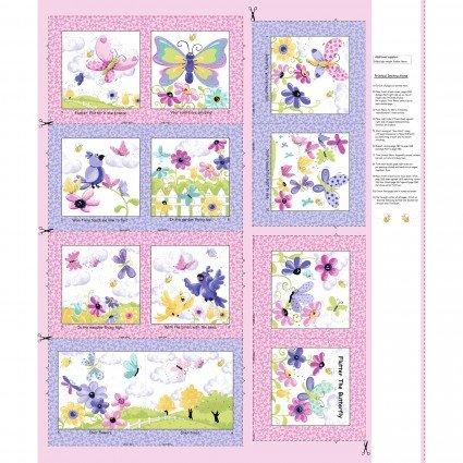 Flutter the Butterfly Soft Book Panel