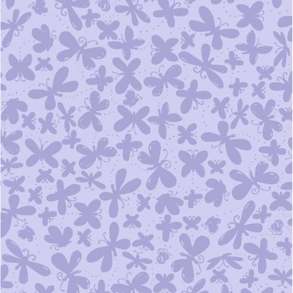 Flutter the Butterfly, lavender