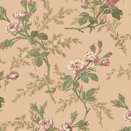 Antebellum Period Pink Flowers