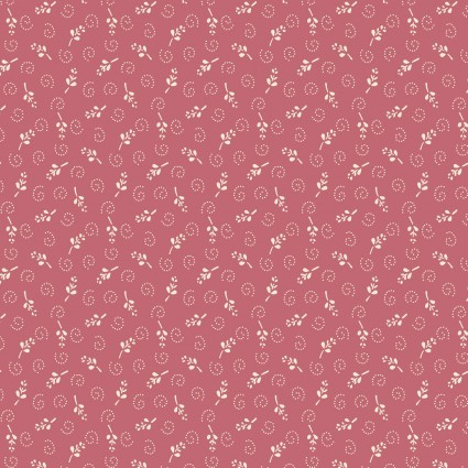 One Room Schoolhouse Floral Pink