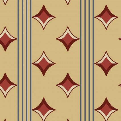 Fabric - Soldier's Quilt - 144R