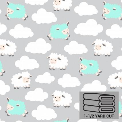 Grey Lambs Anti-Pill Fleece 54 x 60