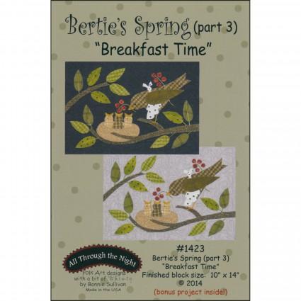 Bertie's Spring  Pattern 3