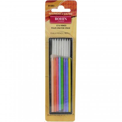 Mechanical Chalk Pencil Refill Red Blue White