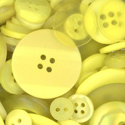 Button basics - lemon yellow