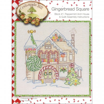 Crabapple Hill Gingerbread Squares FULL PATTERN