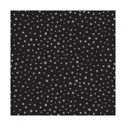 Mixology Black with Gray Dot