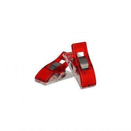 Clover Wonder Clips 10 Pieces Red