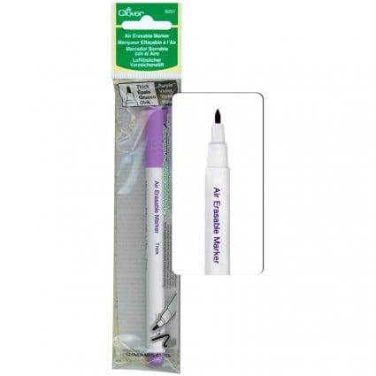 Air Erasable Marker Thick Purple CLO5031