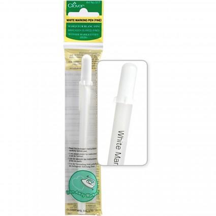 Clover White Heat Erasable Marking Pen