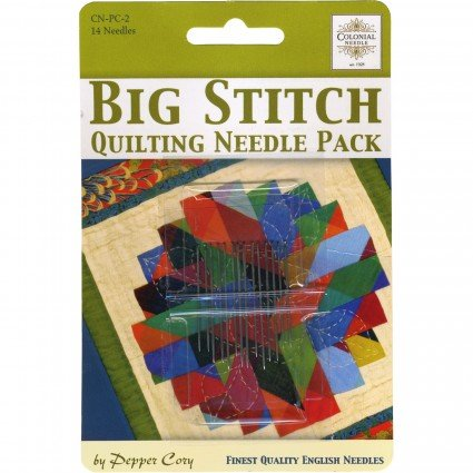 Colonial Needle Big Stitch Quilting Needle Pack
