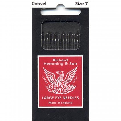 Richard Hemming Embroidery / Crewel Needle Size 7
