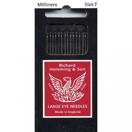 Richard Hemming & Son Milliners Needles #7
