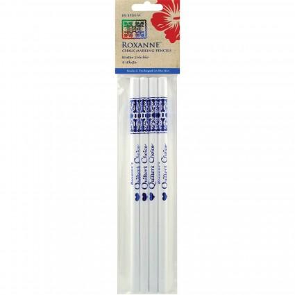 White Chalk Marking Pencils