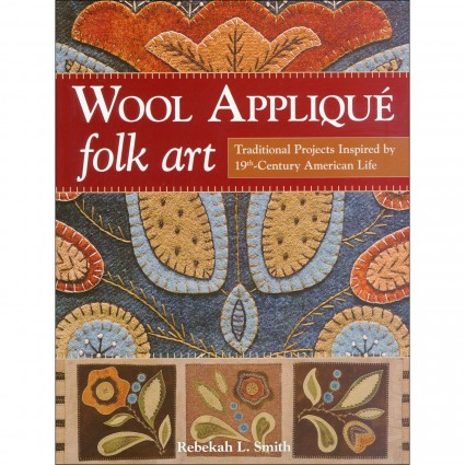Rebekah - Wool Applique Folk Art