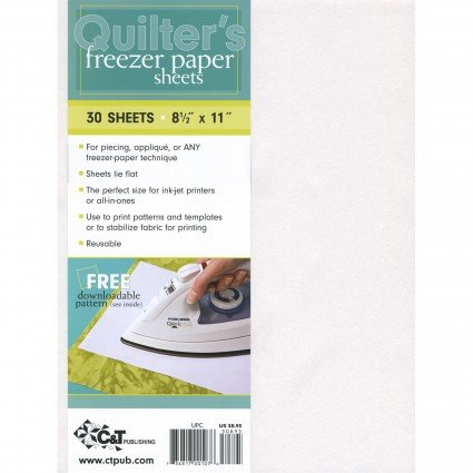 Quilters Freezer Paper (30 sheets)