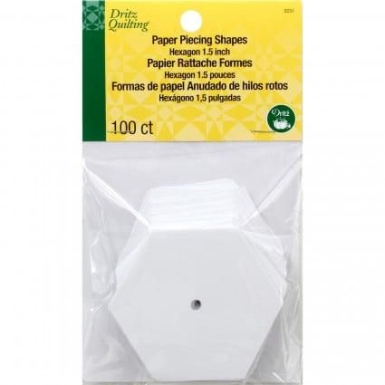 Paper Piecing Hexagon 1.5 DRI3231